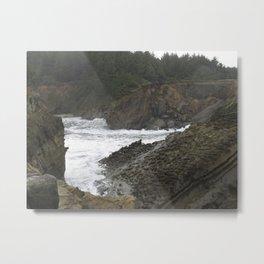Shore Acres near Coos Bay, Oregon Metal Print