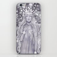 valar morghulis iPhone & iPod Skins featuring Varda, valar of light by ScottyTheCat