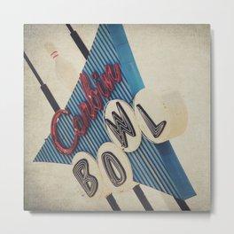 Corbin Bowl  Metal Print