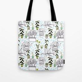 Urban Garden-Spring Tote Bag