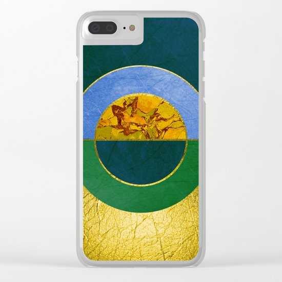 Abstract #122 Clear iPhone Case