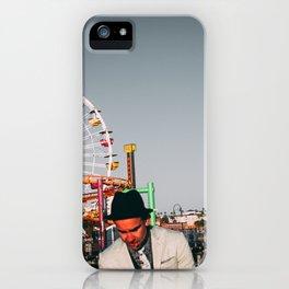 Santa Monica Pier wheel iPhone Case