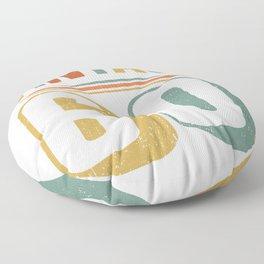 Vintage 60th Birthday Gift Design Floor Pillow