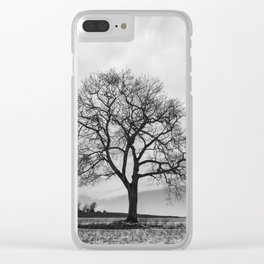 Limbs of Black Clear iPhone Case