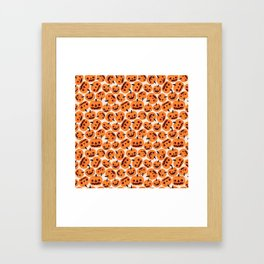 Halloween Jacks Framed Art Print