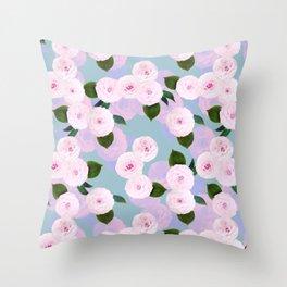 The Camellia Theory Throw Pillow