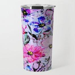 Spring Flower Garden Travel Mug