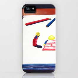 Sketchy Situation iPhone Case