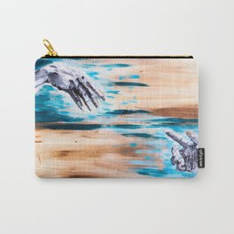 Reaching Hands Carry-All Pouch