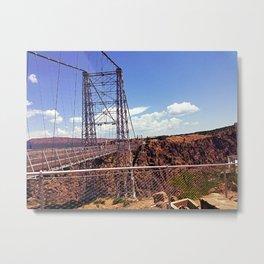 Royal Gorge Bridge, Colorado Metal Print
