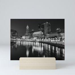 The Columbus Skyline Mini Art Print