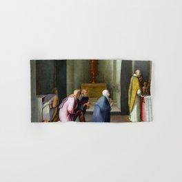 Domenico Beccafumi The Miraculous Communion of Saint Catherine of Siena Hand & Bath Towel