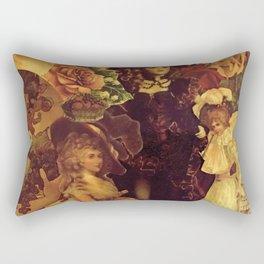 Decoupage Ladies Rectangular Pillow