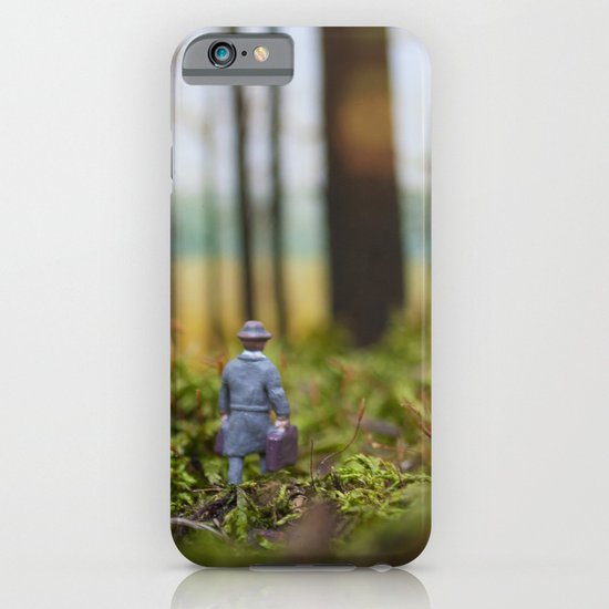 In Search of Bigfoot (Ode to Thoreau) iPhone & iPod Case