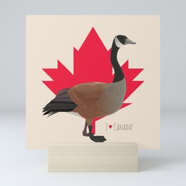 Canada Goose Mini Art Print