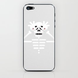 Skeleton / Pale Man iPhone Skin