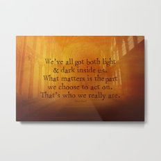 HARRY POTTER // SIRIUS BLACK Metal Print