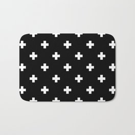 Swiss cross pattern Bath Mat