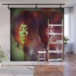 Jimi Hendrix 1 Wall Mural