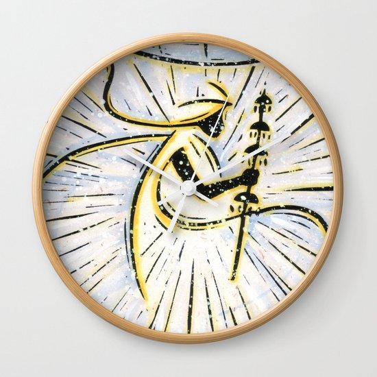 Orixás - Oxala Wall Clock
