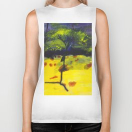 Endless Abstract Landscape Biker Tank