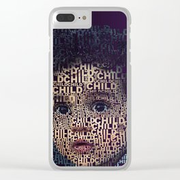 Childreen Clear iPhone Case