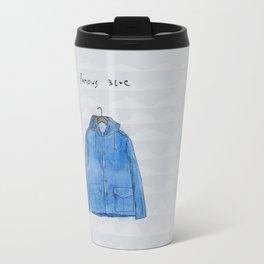 famous blue raincoat Travel Mug