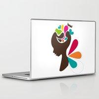 child Laptop & iPad Skins featuring Child by Irmak Akcadogan