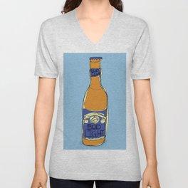 Bud Light Bottle Unisex V-Neck