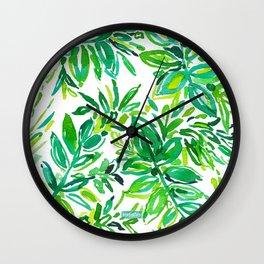 GREEN CANOPY Wall Clock