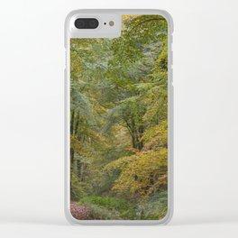 Autumn Woodland - 1 Clear iPhone Case