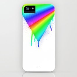 Dripping Rainbow iPhone Case