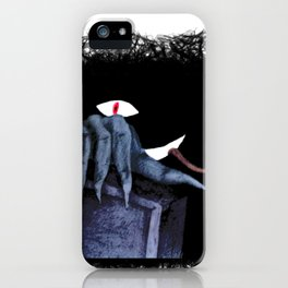 The hidden Monster in the closet iPhone Case