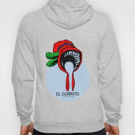 El Gorrito Mexican Loteria Card - The Small Hat Hoody