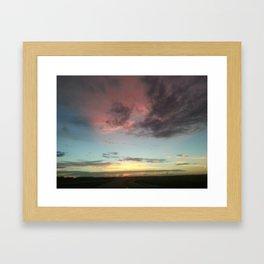 Beautiful Storm Framed Art Print