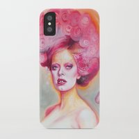 math iPhone & iPod Cases featuring Red Math by Esther Munoz
