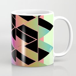 RAINBOW GEOMETRIC STRUCTURE Coffee Mug