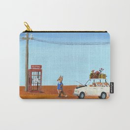 The Out of Service Phone Box Carry-All Pouch