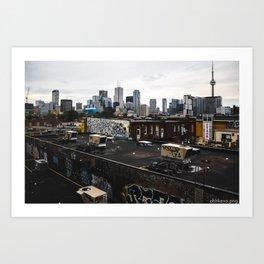 Kensington Market - Toronto Art Print