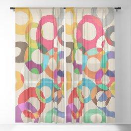 Loop Hoop Sheer Curtain