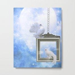 Peace Dove 2 Metal Print