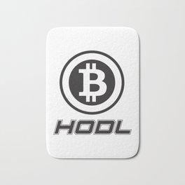Hodl Bitcoin Funny Love Bitcoins Bath Mat