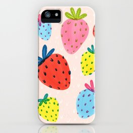 Bright Berries iPhone Case