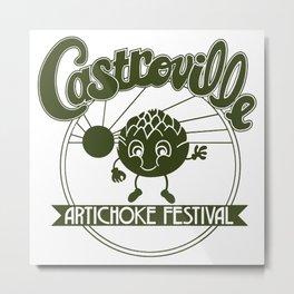 Artichoke Festival Metal Print