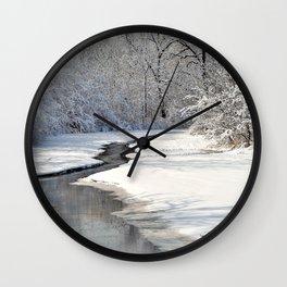 A quiet walk  Wall Clock