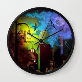 After Midnight Wall Clock