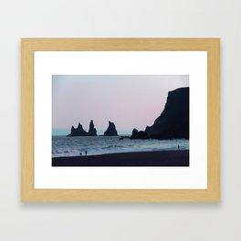 Vik Framed Art Print