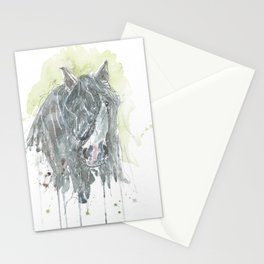 Dark horse. Stationery Cards
