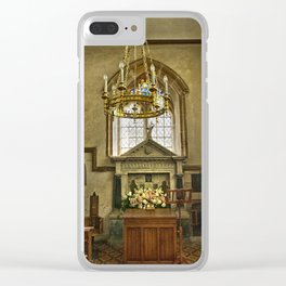 St Margaret of Antioch Isfield Clear iPhone Case