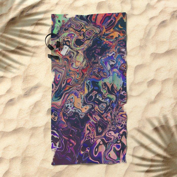 AURADESCENT Beach Towel